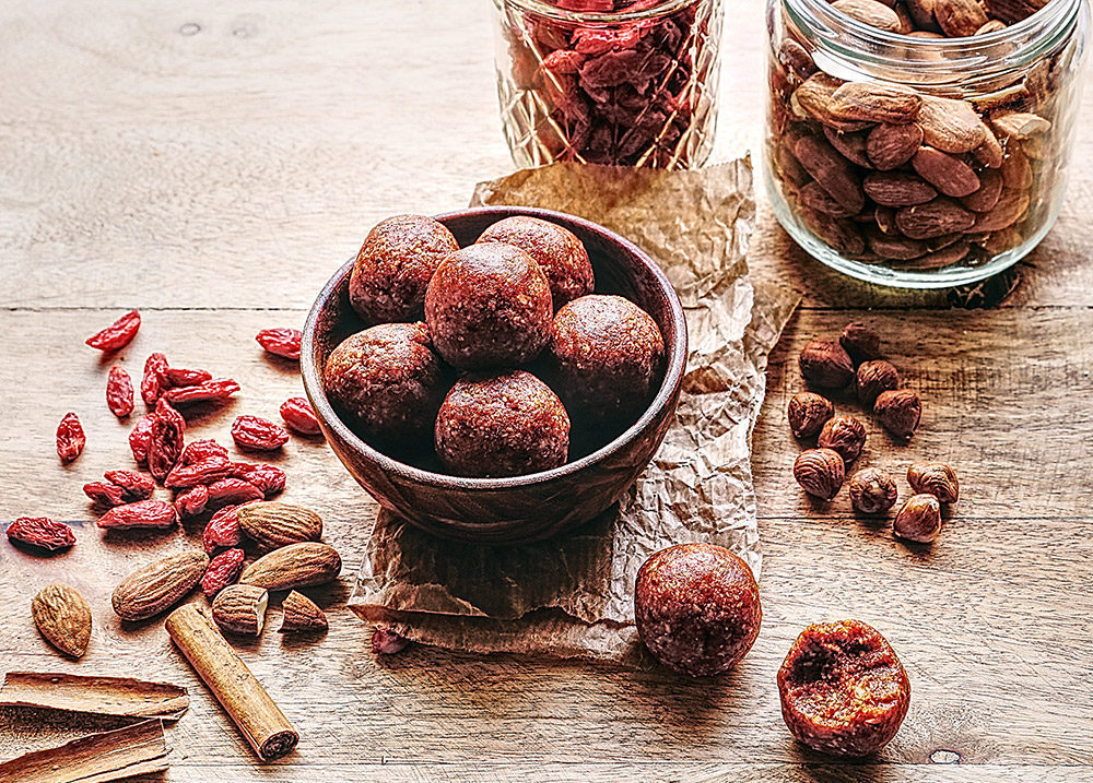 Recette Energy Balls vegan et sans gluten Le Blog 7 Saveurs
