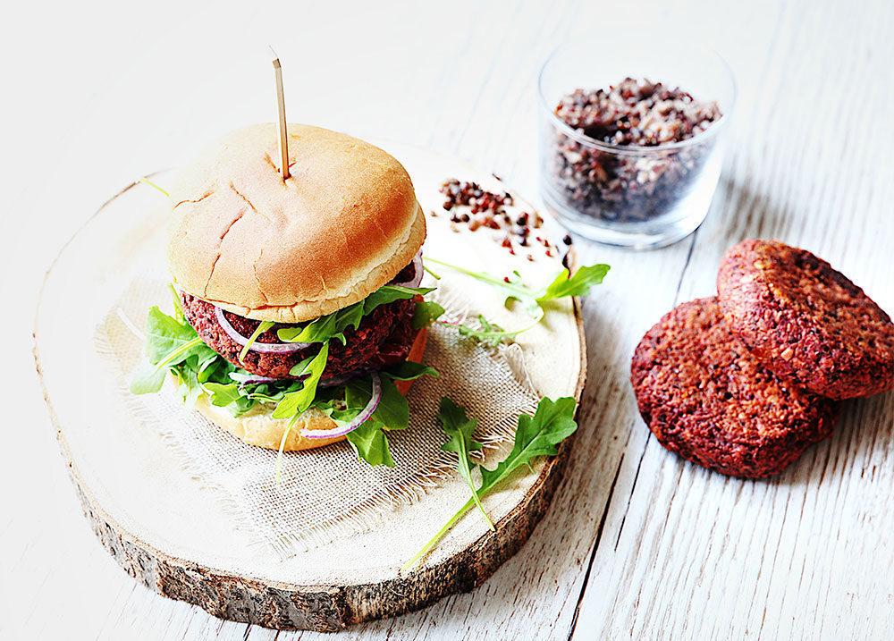 Recette Burger végétarien Le Blog 7 Saveurs
