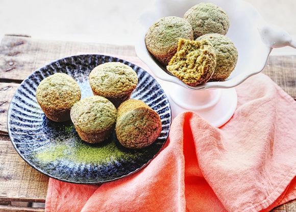 Muffins protéines au thé matcha Le Blog 7 Saveurs