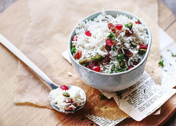 Recette Riz basmati raisin et pistache Le Blog 7 Saveurs