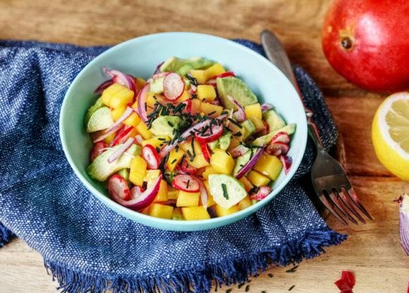 Recette Salade à la spiruline Le Blog 7 Saveurs