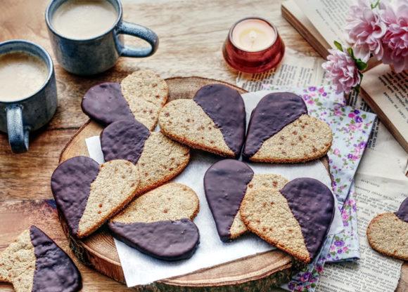 Sablés healthy au chocolat noir Le Blog 7 Saveurs